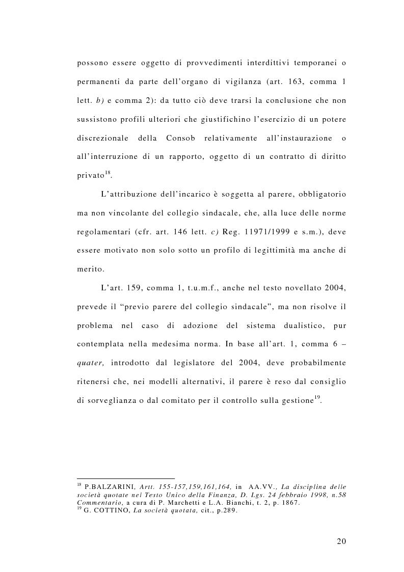 Anteprima della tesi: La responsabilità penale dei revisori, Pagina 15