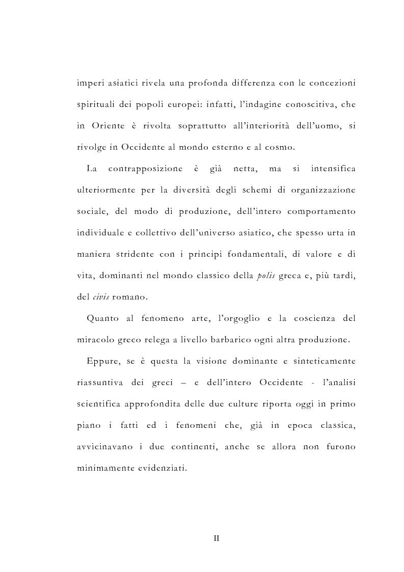 Anteprima della tesi: Le vie delle merci ed i percorsi dell'arte tra l'India e il Meridione d'Italia dall'Antichità al Medioevo. Studio mirato sul gioiello., Pagina 2