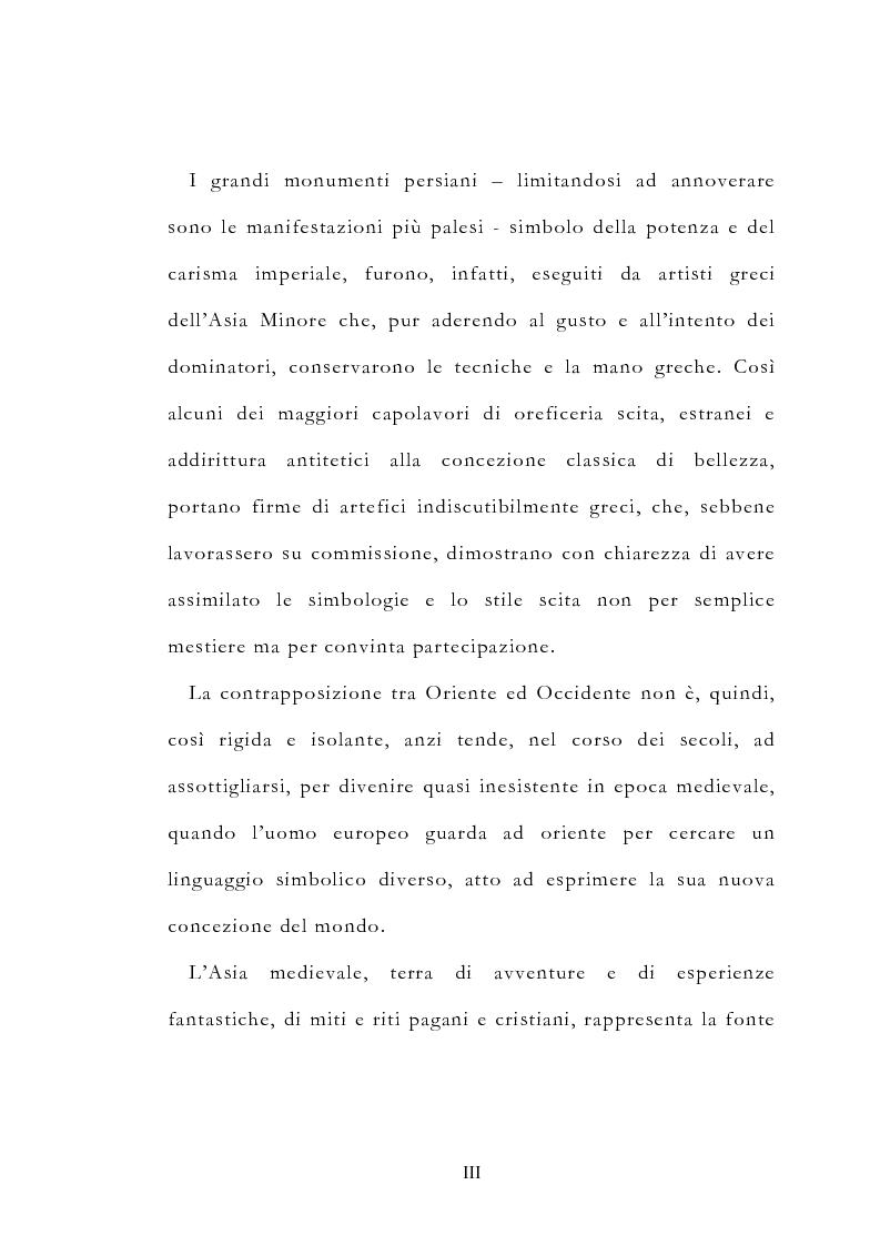 Anteprima della tesi: Le vie delle merci ed i percorsi dell'arte tra l'India e il Meridione d'Italia dall'Antichità al Medioevo. Studio mirato sul gioiello., Pagina 3