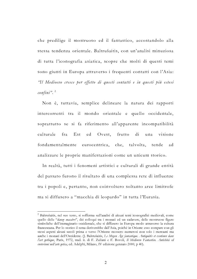 Anteprima della tesi: Le vie delle merci ed i percorsi dell'arte tra l'India e il Meridione d'Italia dall'Antichità al Medioevo. Studio mirato sul gioiello., Pagina 7