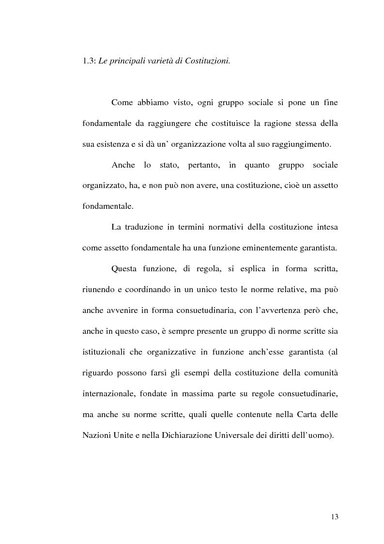 Anteprima della tesi: Il procedimento di revisione costituzionale, Pagina 10