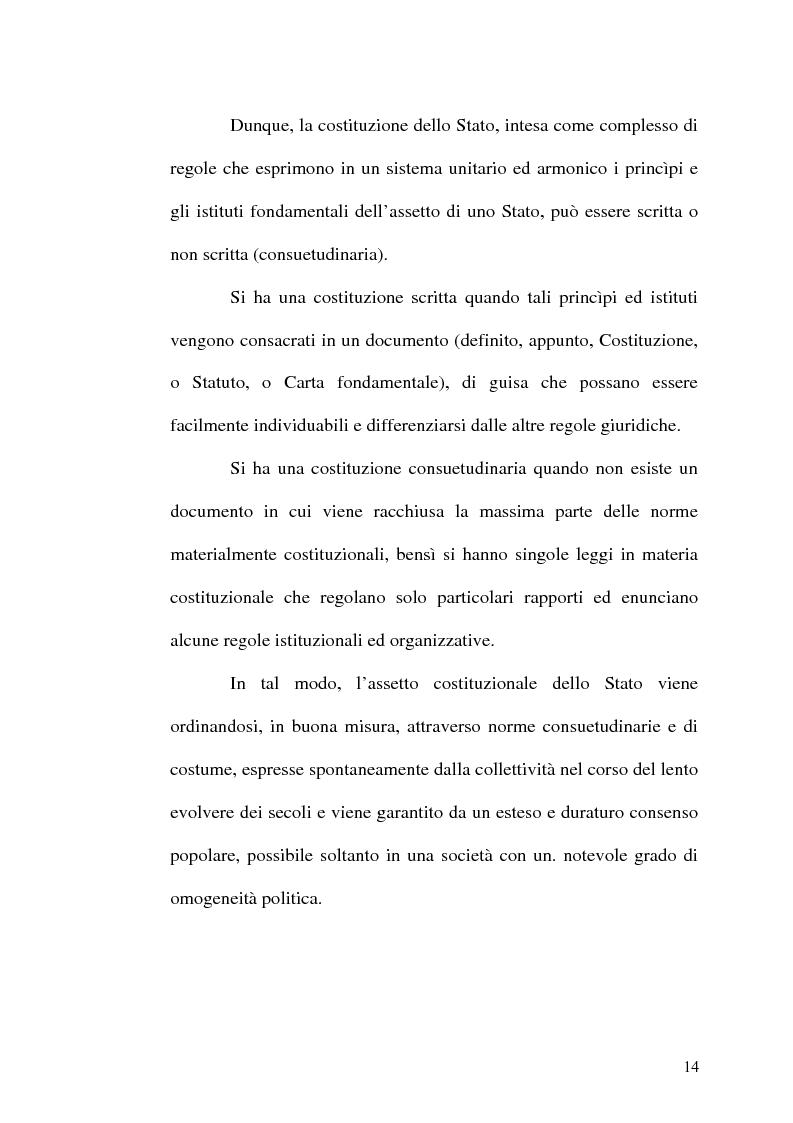 Anteprima della tesi: Il procedimento di revisione costituzionale, Pagina 11