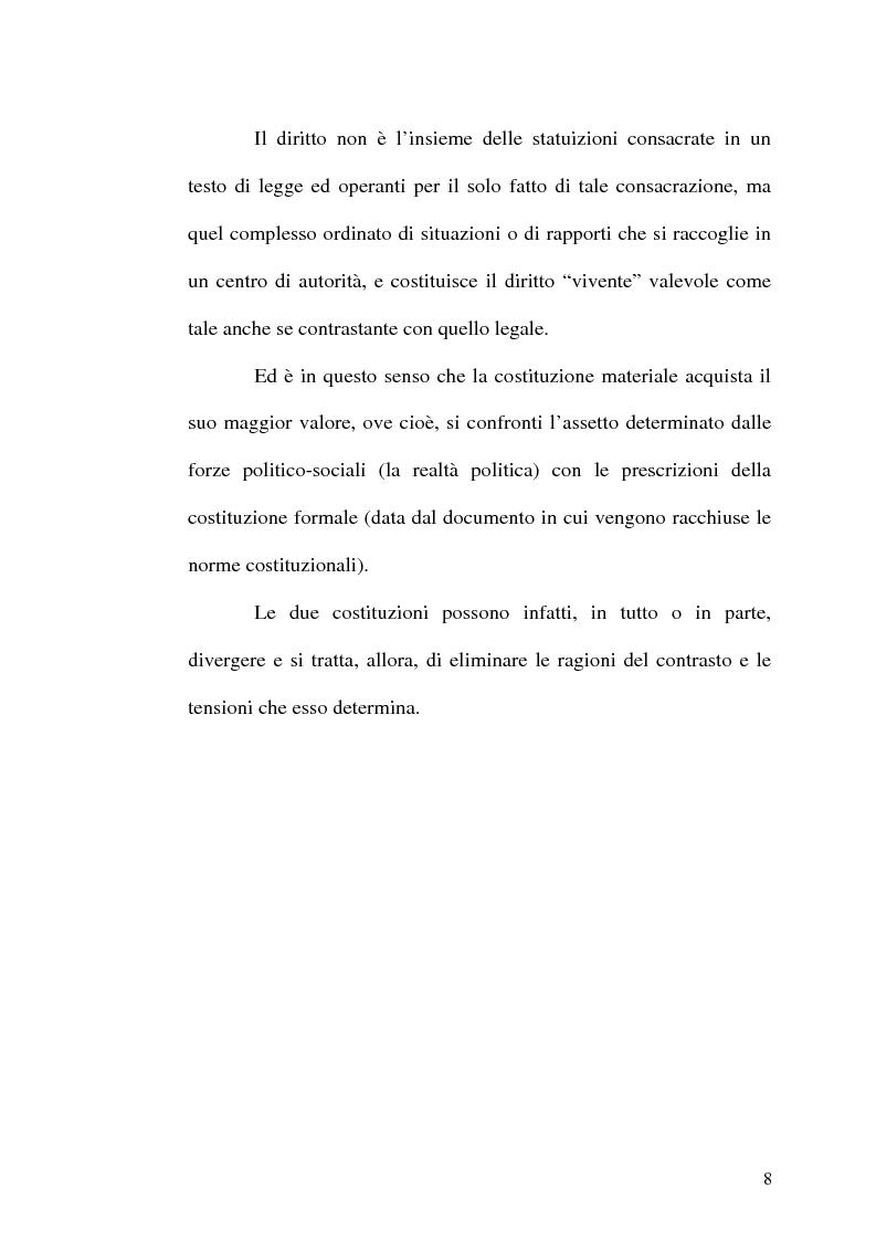 Anteprima della tesi: Il procedimento di revisione costituzionale, Pagina 5