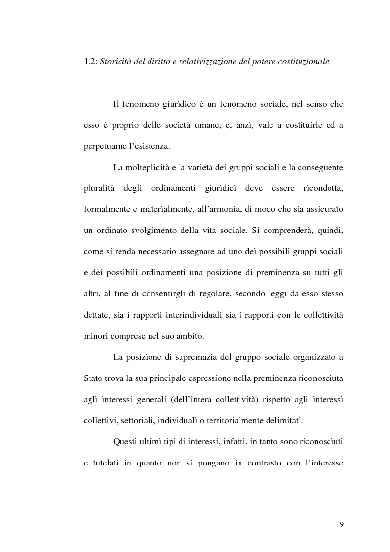 Anteprima della tesi: Il procedimento di revisione costituzionale, Pagina 6