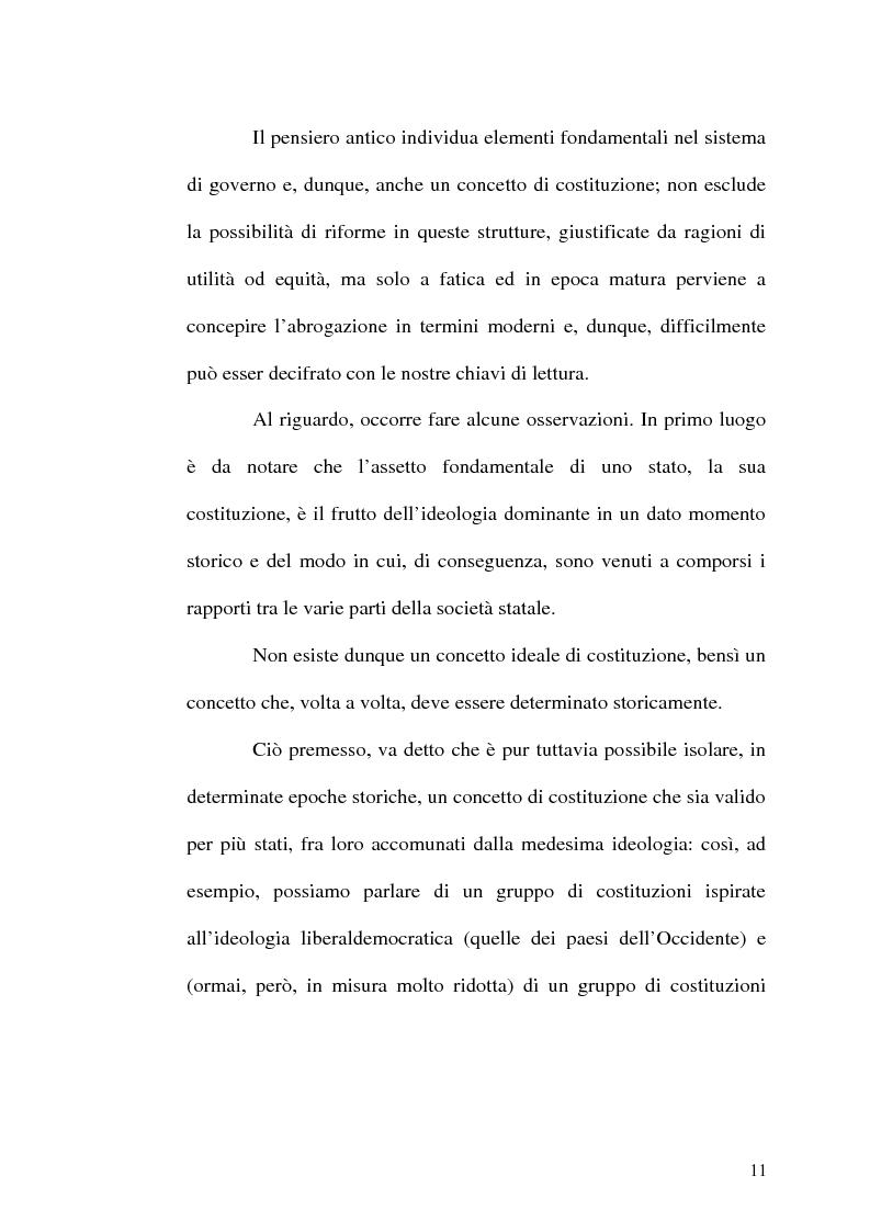 Anteprima della tesi: Il procedimento di revisione costituzionale, Pagina 8