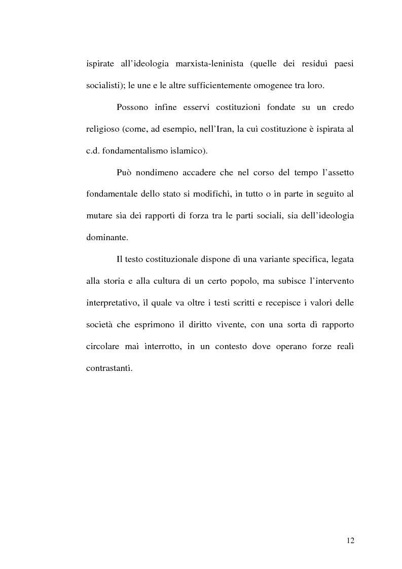 Anteprima della tesi: Il procedimento di revisione costituzionale, Pagina 9