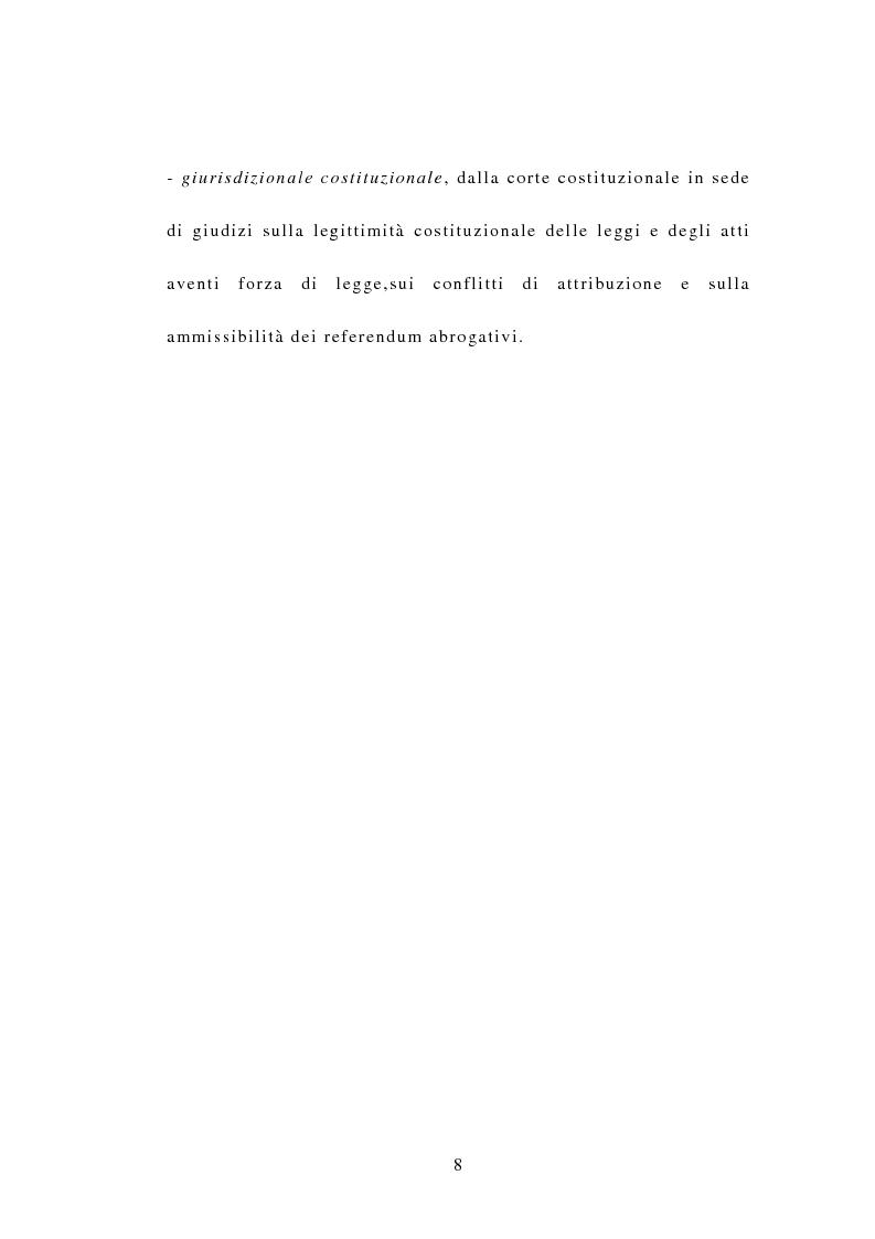 Anteprima della tesi: Indipendenza della magistratura e giudice naturale, Pagina 8