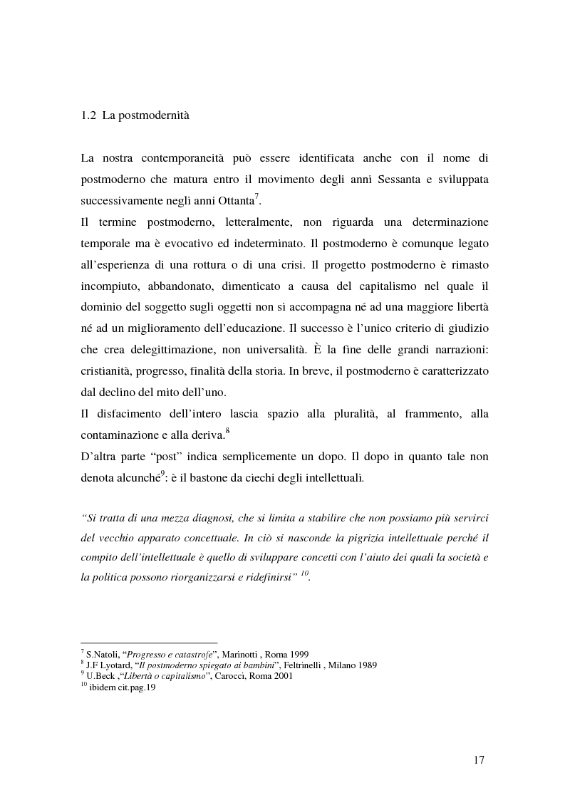 Anteprima della tesi: Flessibilità e precarietà: storie di lavoro atipico, Pagina 13