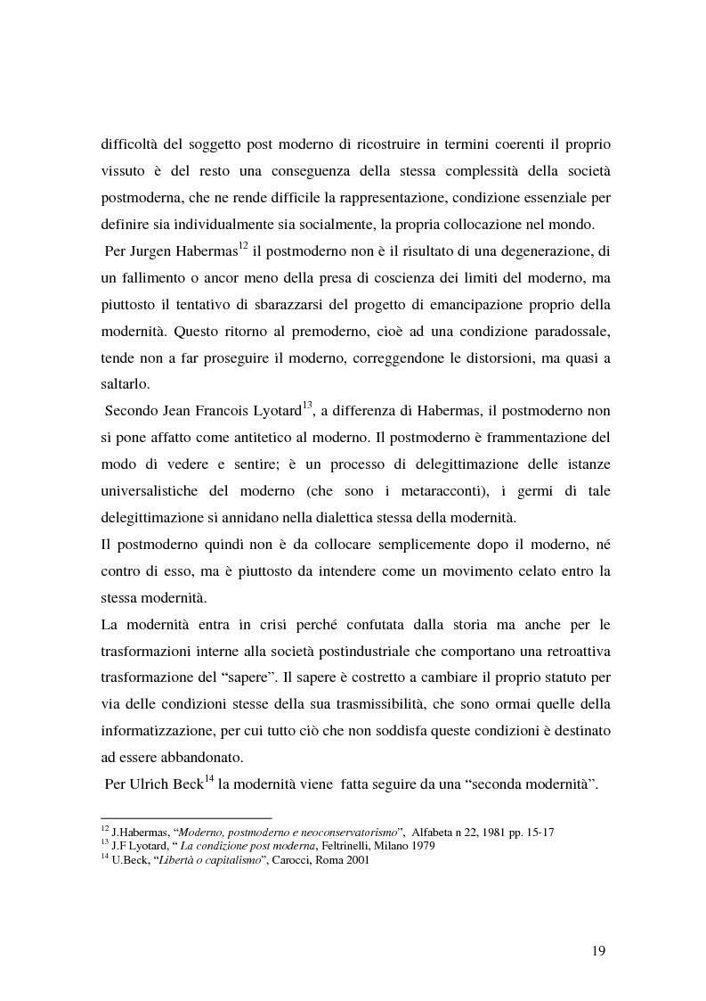 Anteprima della tesi: Flessibilità e precarietà: storie di lavoro atipico, Pagina 15