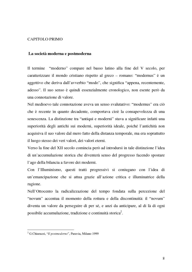 Anteprima della tesi: Flessibilità e precarietà: storie di lavoro atipico, Pagina 4