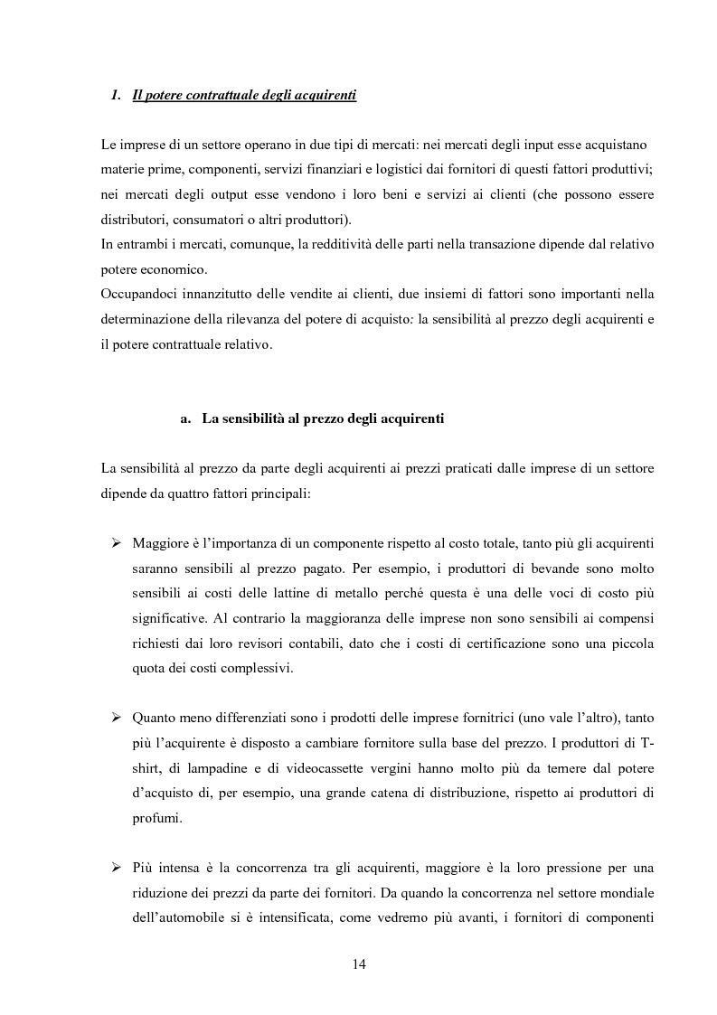 Anteprima della tesi: I modelli competitivi del settore automobilistico, Pagina 11