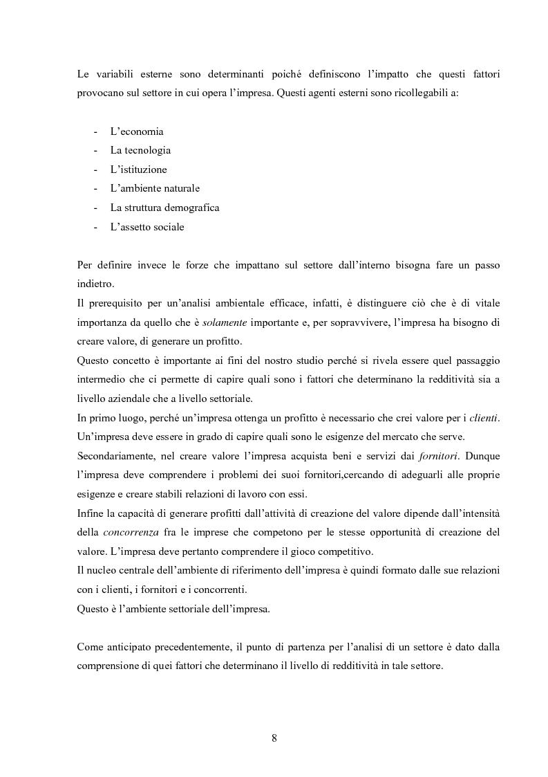 Anteprima della tesi: I modelli competitivi del settore automobilistico, Pagina 5