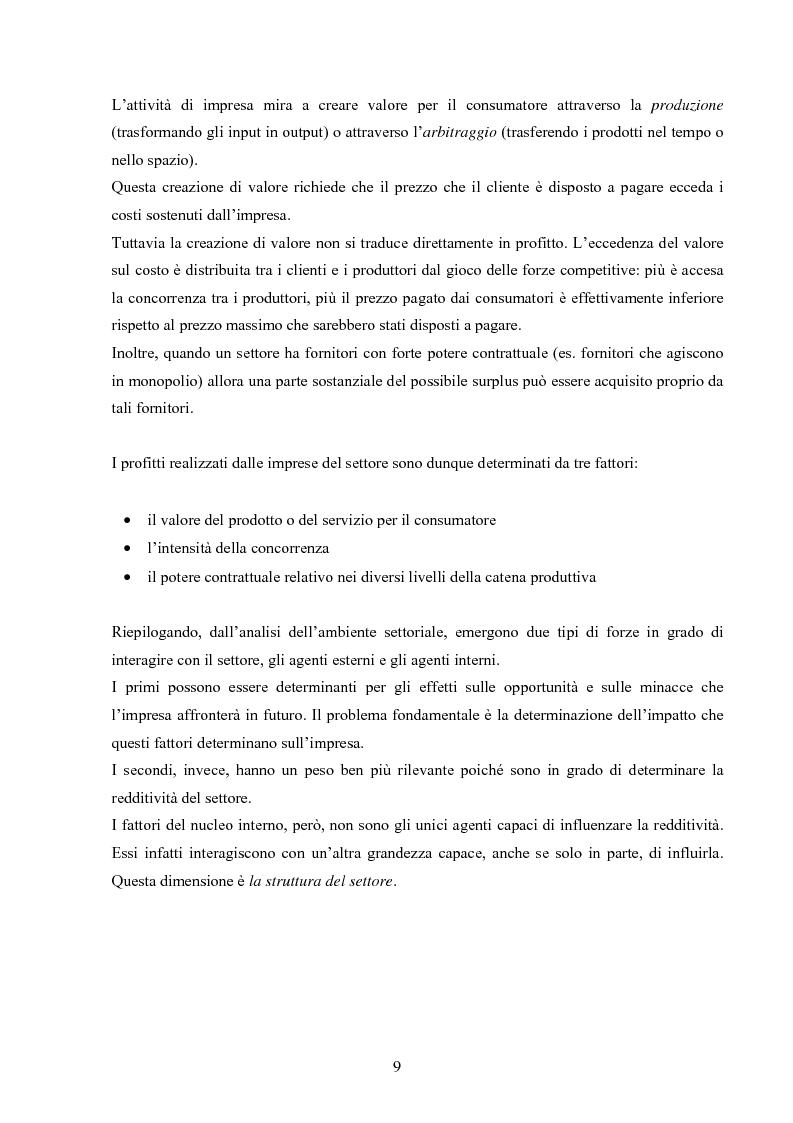 Anteprima della tesi: I modelli competitivi del settore automobilistico, Pagina 6