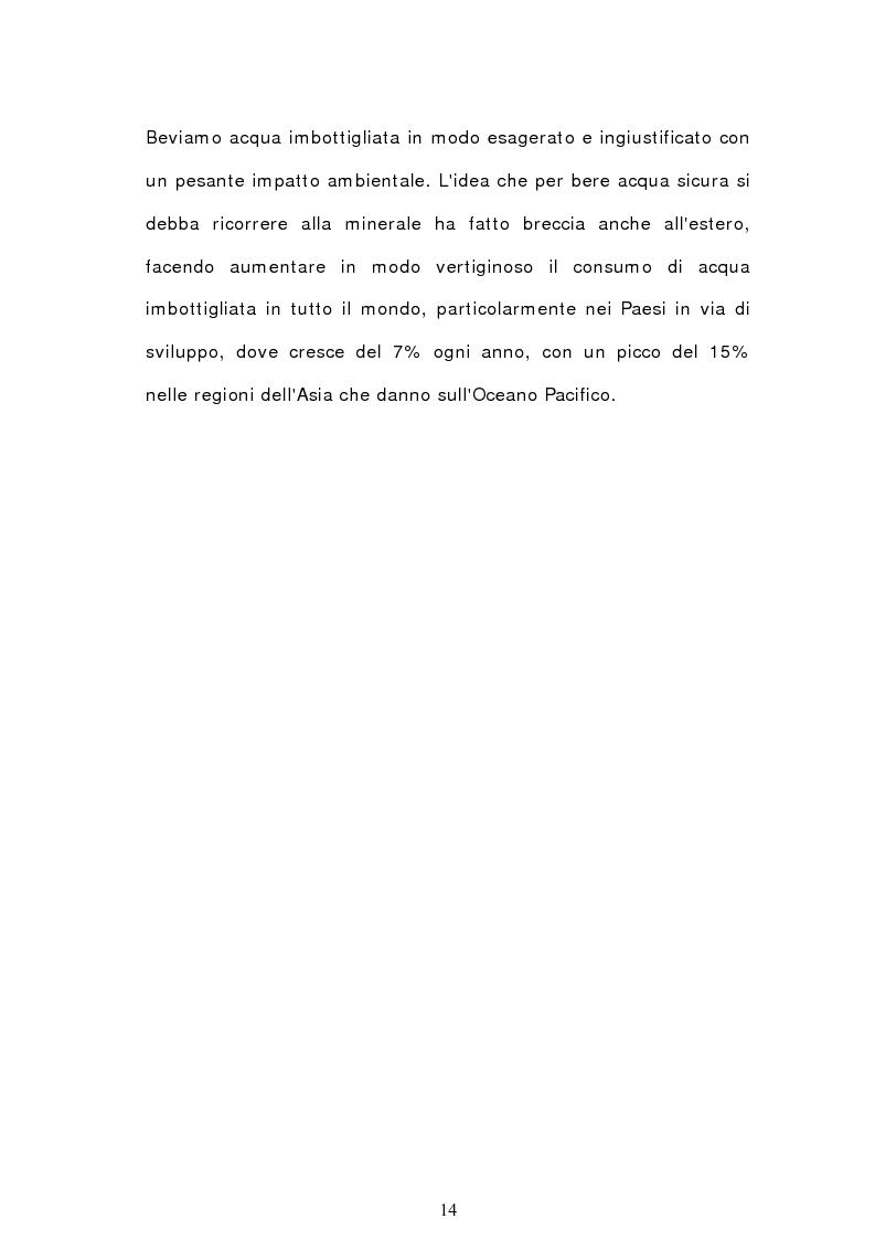 Anteprima della tesi: Analisi semiotica degli spot delle acque minerali, Pagina 11