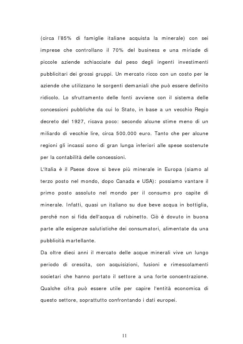 Anteprima della tesi: Analisi semiotica degli spot delle acque minerali, Pagina 8