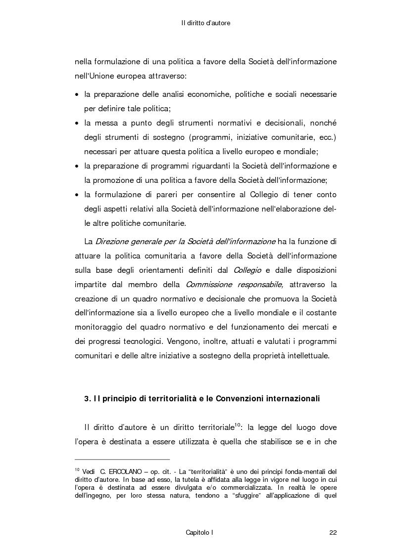 Anteprima della tesi: Il diritto d'autore in Internet, Pagina 13
