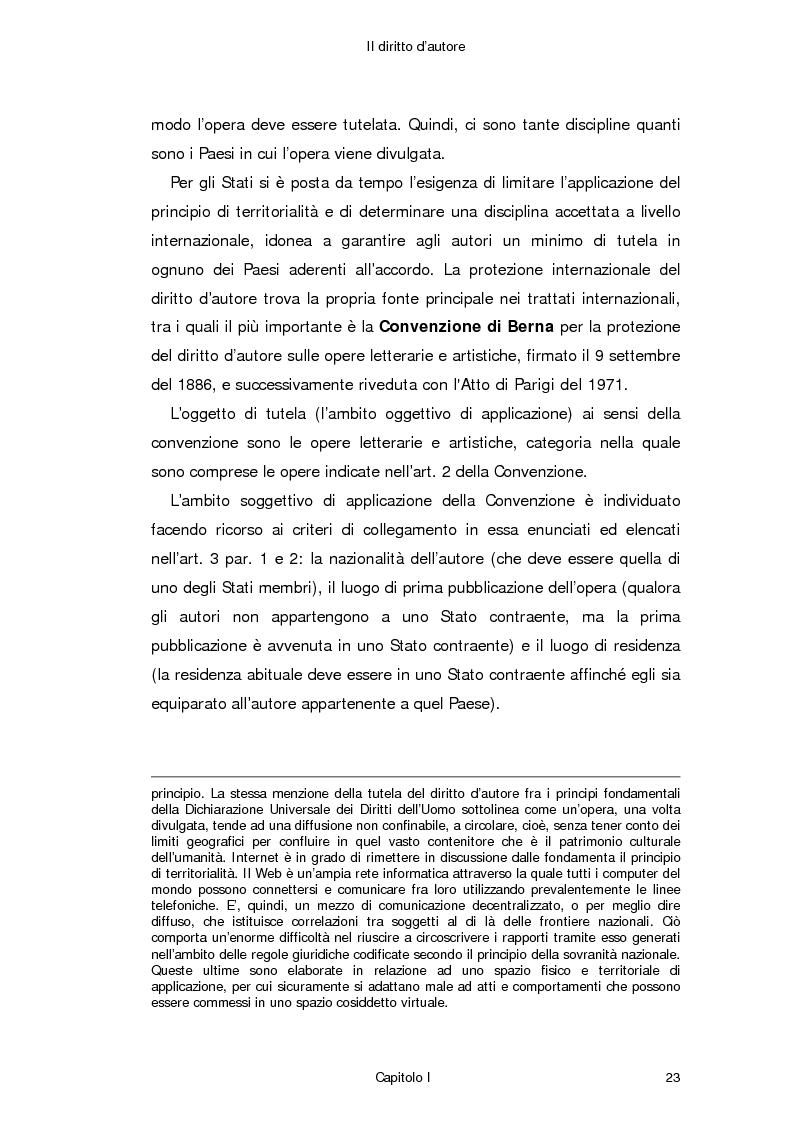 Anteprima della tesi: Il diritto d'autore in Internet, Pagina 14