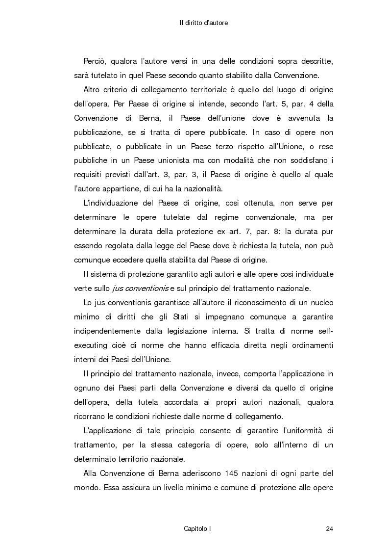 Anteprima della tesi: Il diritto d'autore in Internet, Pagina 15