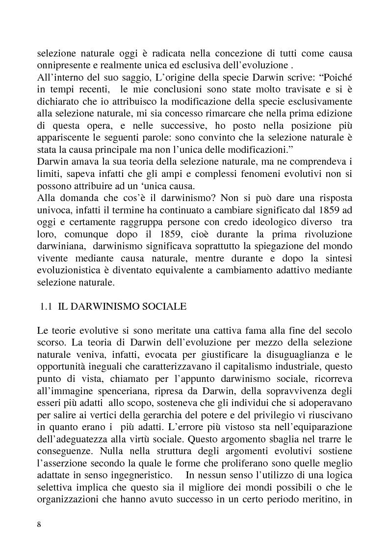 """Anteprima della tesi: """"Isomorfismo ed adattamento organizzativo; l'applicazione alla popolazione d'alberghi della Val Badia e del Bacino Termale Euganeo""""., Pagina 5"""