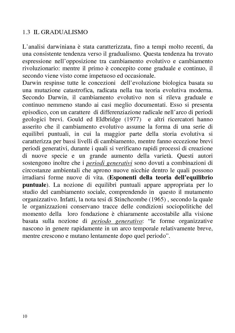 """Anteprima della tesi: """"Isomorfismo ed adattamento organizzativo; l'applicazione alla popolazione d'alberghi della Val Badia e del Bacino Termale Euganeo""""., Pagina 7"""