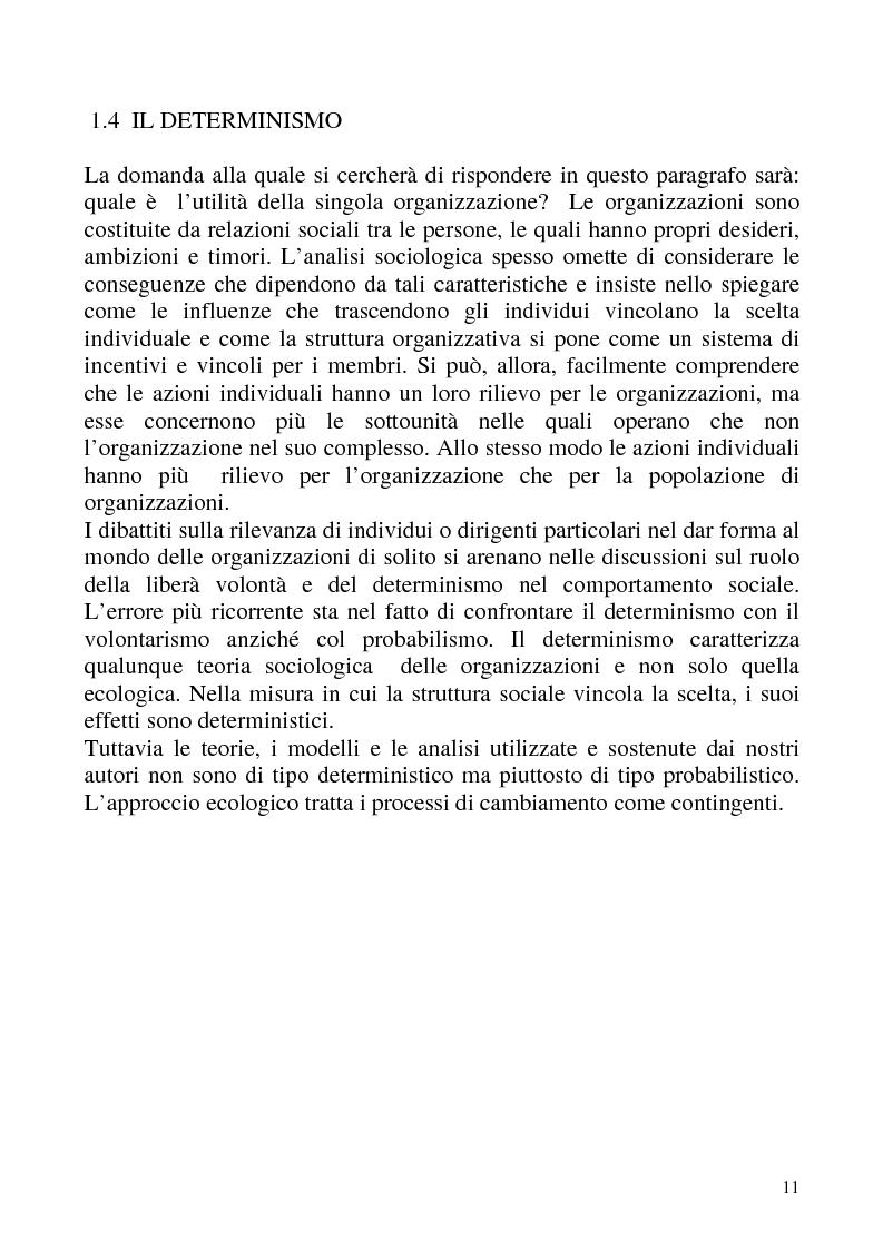 """Anteprima della tesi: """"Isomorfismo ed adattamento organizzativo; l'applicazione alla popolazione d'alberghi della Val Badia e del Bacino Termale Euganeo""""., Pagina 8"""