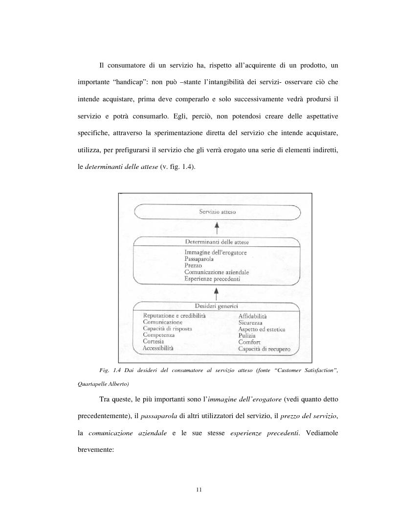 Anteprima della tesi: Approccio tradizionale e nuove tendenze nella Customer Satisfaction, Pagina 11