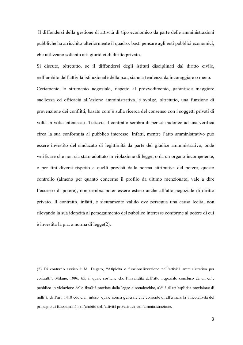 Anteprima della tesi: I contratti d'appalto di opere pubbliche: profili problematici attinenti alle ipotesi di invalidità e nuove prospettive nel risarcimento del danno alle imprese., Pagina 4