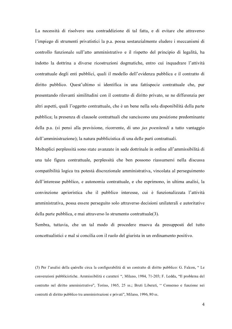 Anteprima della tesi: I contratti d'appalto di opere pubbliche: profili problematici attinenti alle ipotesi di invalidità e nuove prospettive nel risarcimento del danno alle imprese., Pagina 5