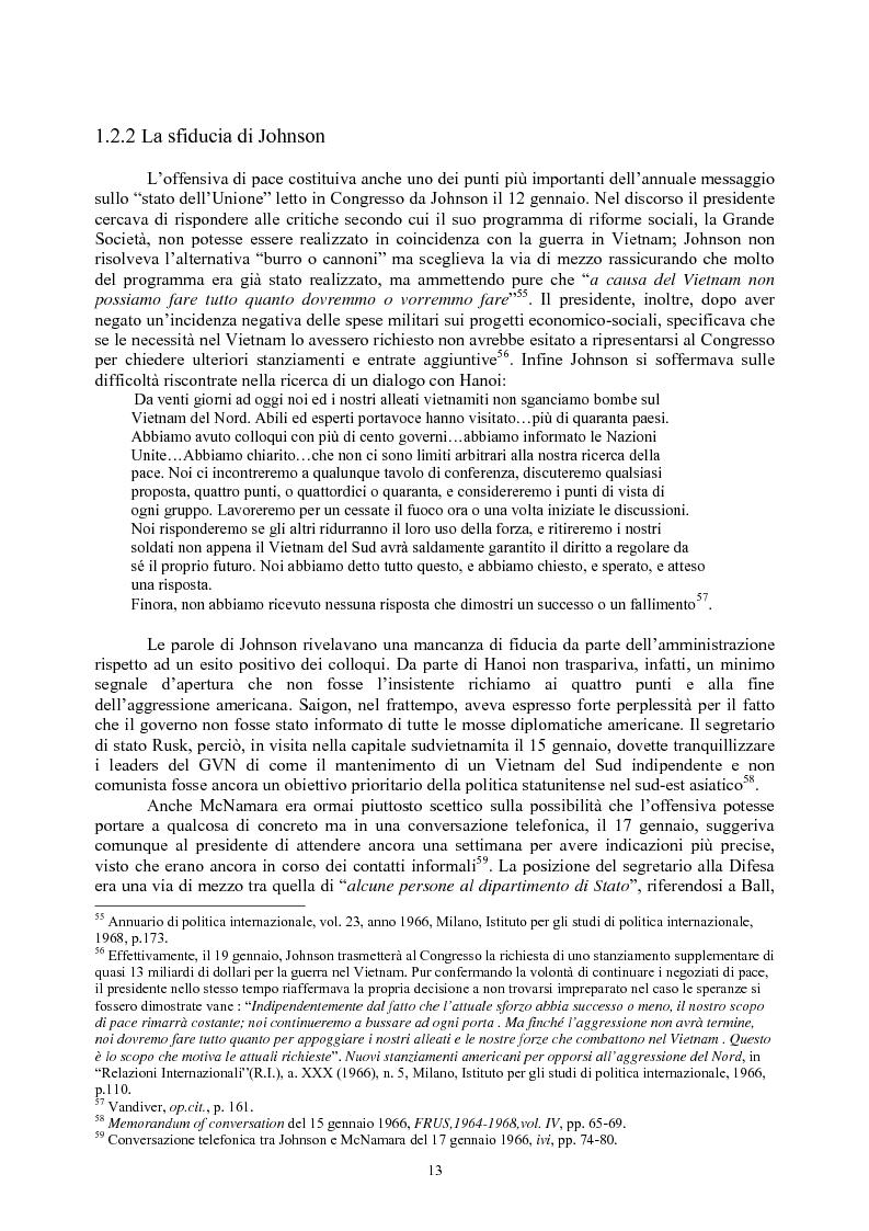 Anteprima della tesi: La guerra del Vietnam nel 1966: tra escalation e tentativi di pace, Pagina 11