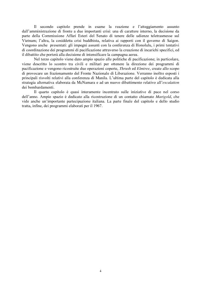 Anteprima della tesi: La guerra del Vietnam nel 1966: tra escalation e tentativi di pace, Pagina 2