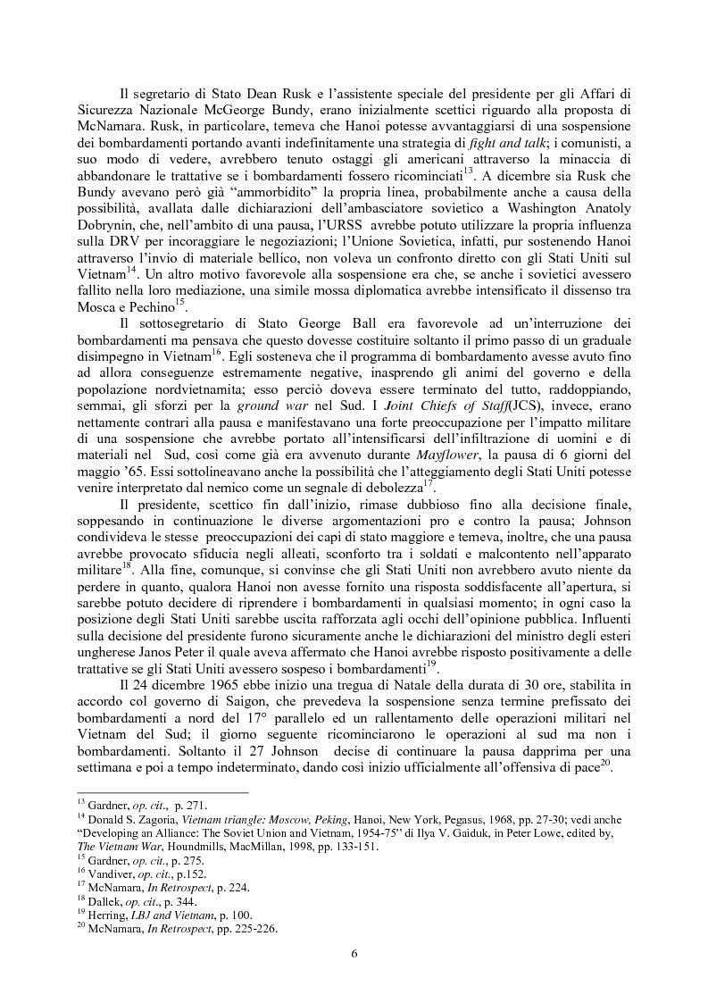 Anteprima della tesi: La guerra del Vietnam nel 1966: tra escalation e tentativi di pace, Pagina 4