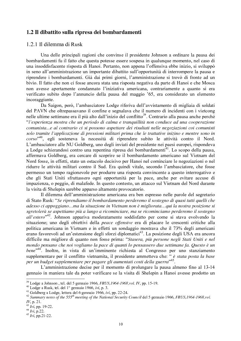 Anteprima della tesi: La guerra del Vietnam nel 1966: tra escalation e tentativi di pace, Pagina 8