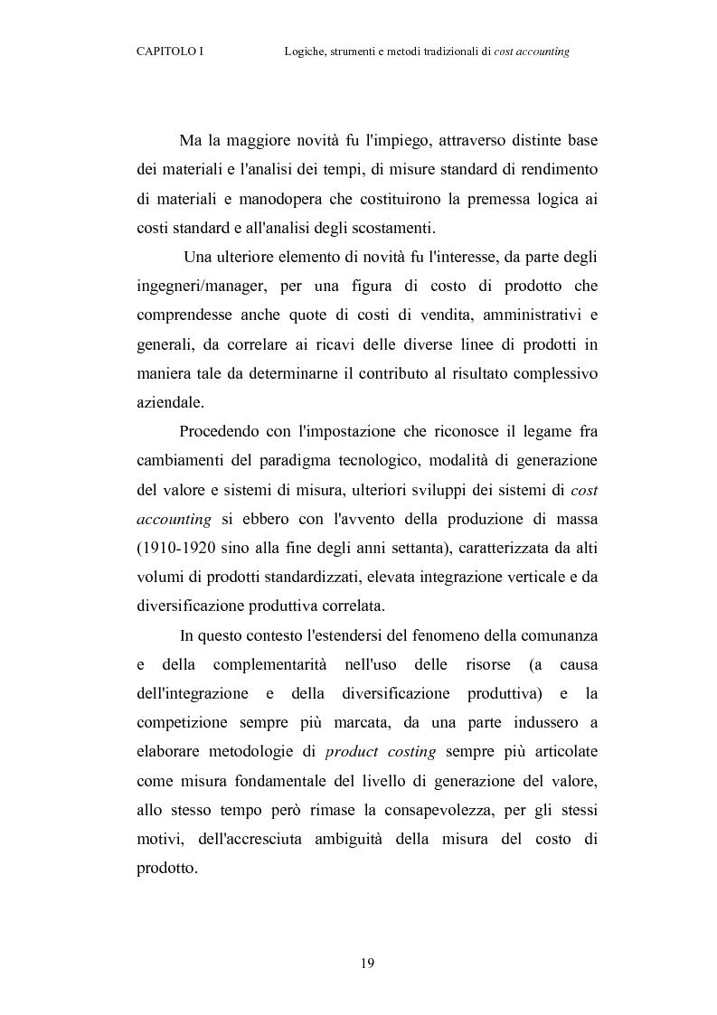 Anteprima della tesi: Il cost accounting come strumento di controllo direzionale negli enti locali. Il caso del Comune di Porto Torres, Pagina 12