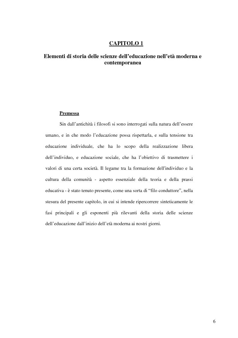 Anteprima della tesi: E-learning: apprendere con la rete. L'impiego dei nuovi media in ambito educativo-formativo, Pagina 4