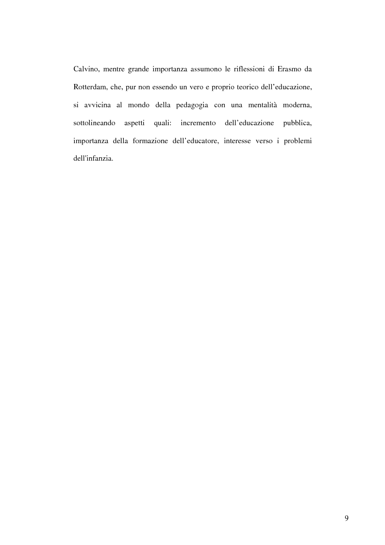 Anteprima della tesi: E-learning: apprendere con la rete. L'impiego dei nuovi media in ambito educativo-formativo, Pagina 7