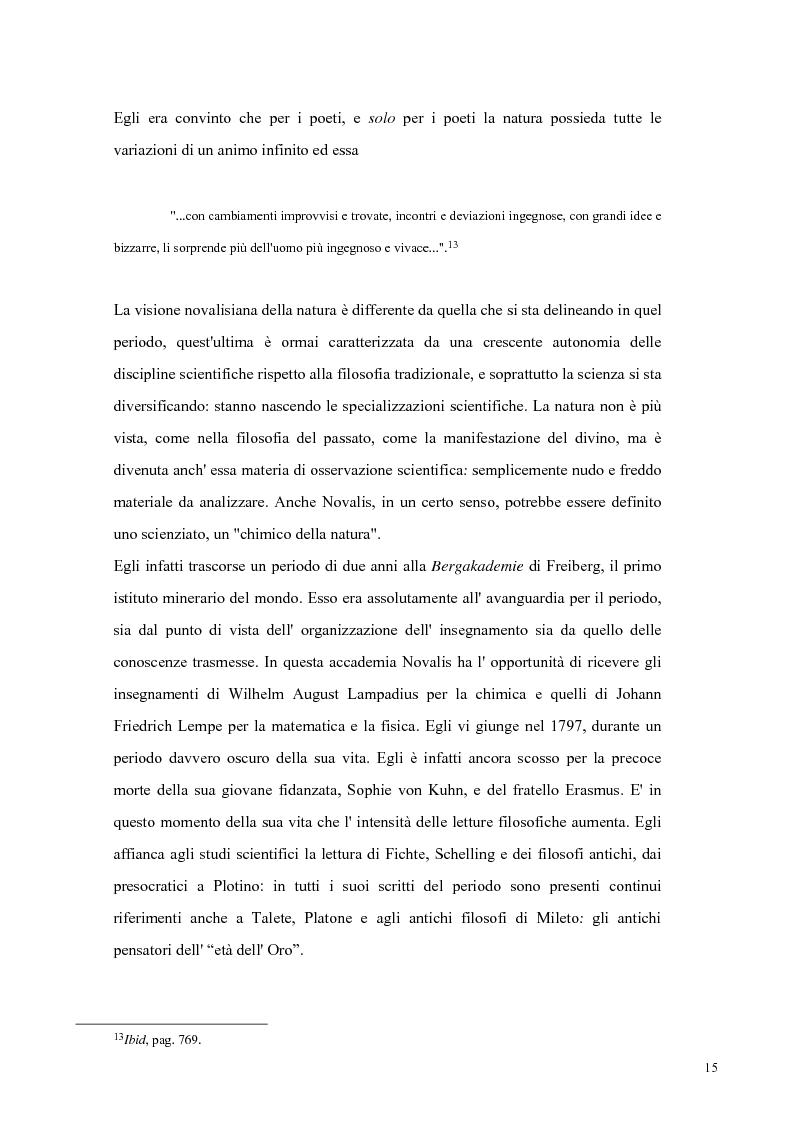 Anteprima della tesi: NOVALIS- Il maestro e i discepoli - Un cammino verso il tempio, Pagina 12
