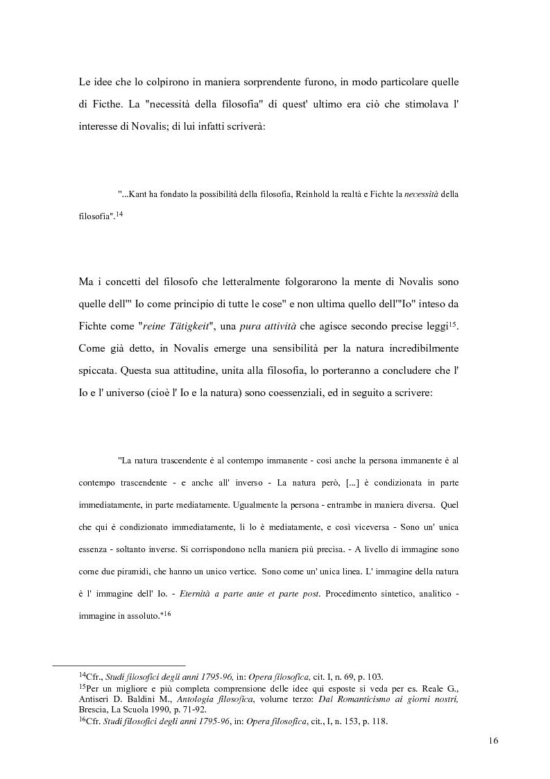 Anteprima della tesi: NOVALIS- Il maestro e i discepoli - Un cammino verso il tempio, Pagina 13