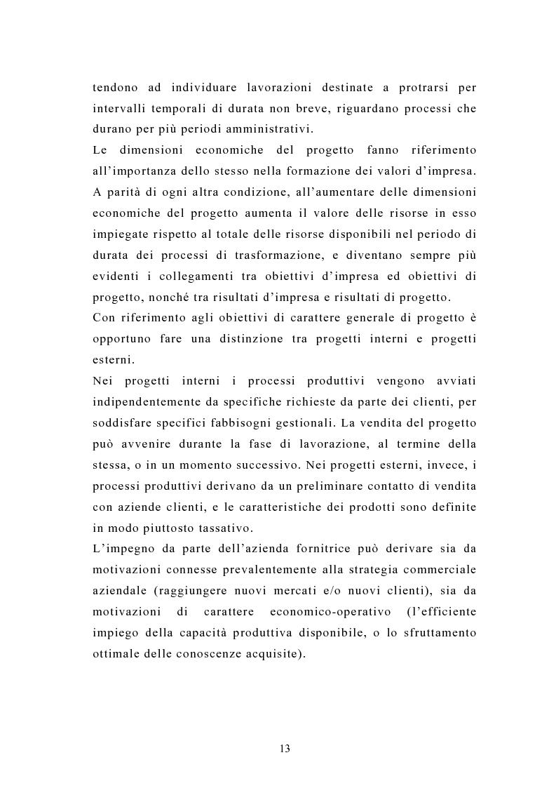 Anteprima della tesi: La pianificazione e il controllo dei grandi progetti. Il caso di un'impresa operante nel settore dell'impiantistica., Pagina 11