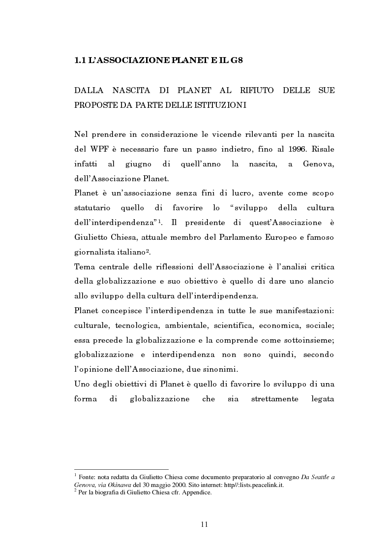 Anteprima della tesi: Il mondo intellettuale al servizio dell'ordine internazionale: The World Political Forum, Pagina 7