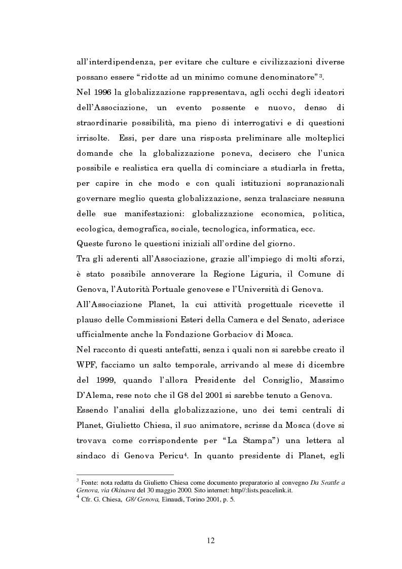 Anteprima della tesi: Il mondo intellettuale al servizio dell'ordine internazionale: The World Political Forum, Pagina 8