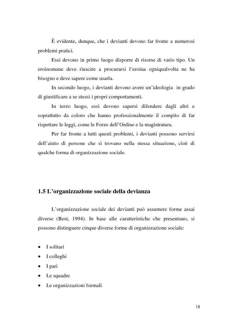 Anteprima della tesi: Comunicare la sicurezza a Perugia, Pagina 14
