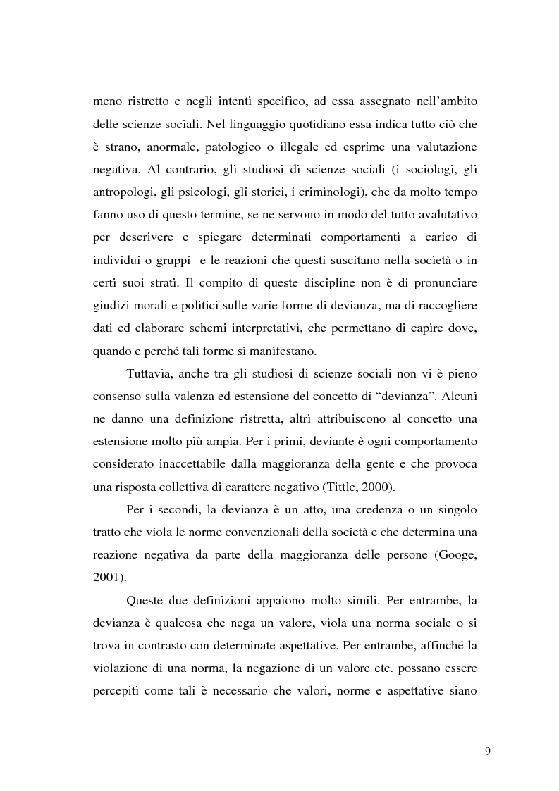Anteprima della tesi: Comunicare la sicurezza a Perugia, Pagina 5
