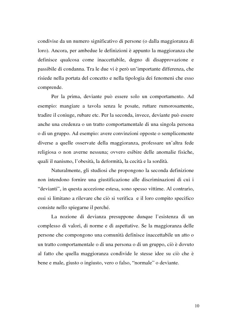 Anteprima della tesi: Comunicare la sicurezza a Perugia, Pagina 6