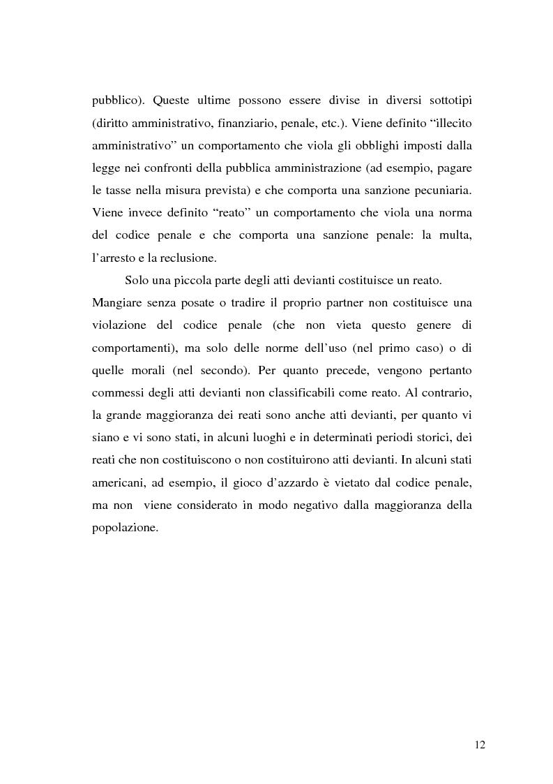 Anteprima della tesi: Comunicare la sicurezza a Perugia, Pagina 8