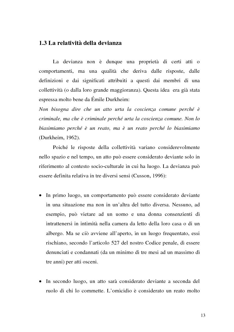 Anteprima della tesi: Comunicare la sicurezza a Perugia, Pagina 9