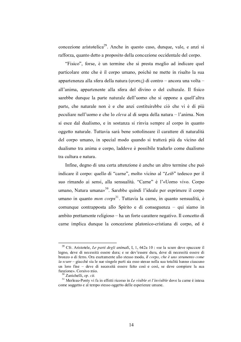 Anteprima della tesi: Il corpo ingannato tra metafisica e tecnologia, Pagina 11