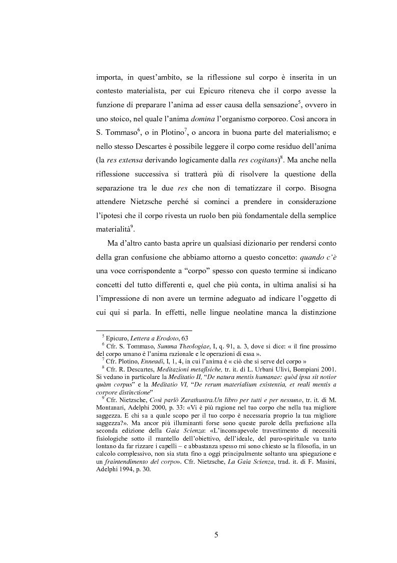 Anteprima della tesi: Il corpo ingannato tra metafisica e tecnologia, Pagina 2