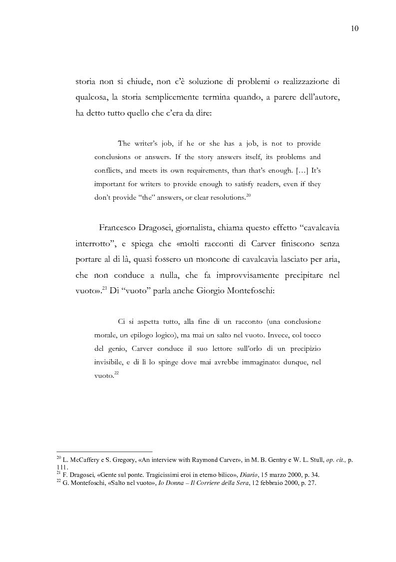 Anteprima della tesi: Dalle parole alle immagini: Robert Altman interpreta Raymond Carver, Pagina 10