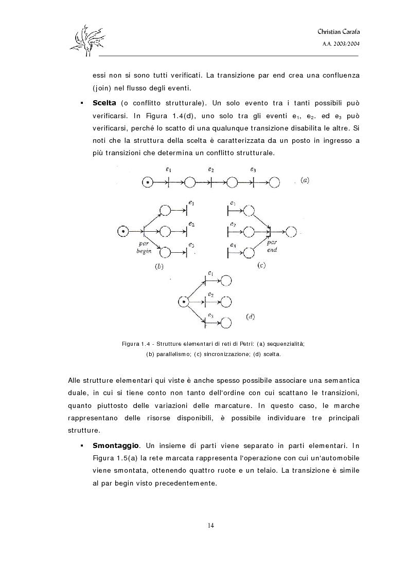 Anteprima della tesi: Analisi e confronto dei software di simulazione di Reti di Petri, Pagina 10