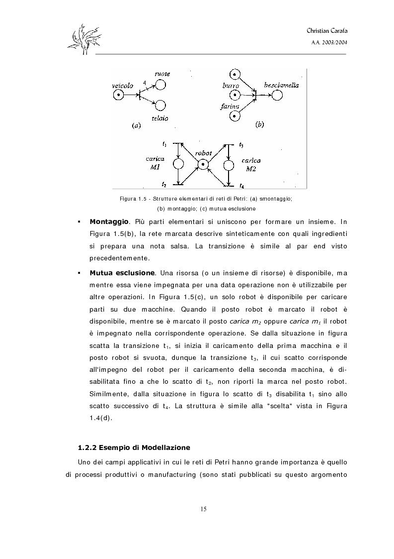 Anteprima della tesi: Analisi e confronto dei software di simulazione di Reti di Petri, Pagina 11